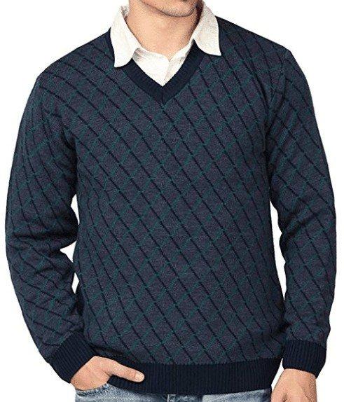 arbee Men's Blended Sweater